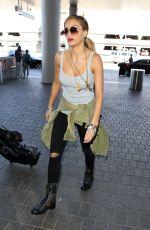 NICOLE SCHERZINGER Arrives at LAX Airport in Los Angeles 2402