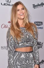 NINA AGDAL at 2015 Sports Illustrated Swimsuit Issue Celebration in New York