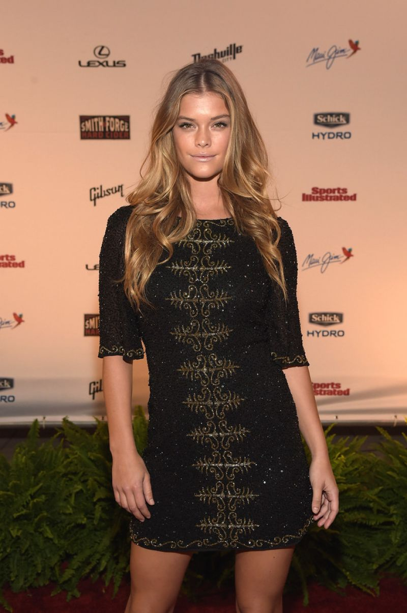 NINA AGDAL at SI Swimsuit 2015 Takes Over the Schermerhorn Symphony Center in Nashville