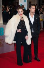NOOMI RAPACE at 2015 EE British Academy Film Awards in London