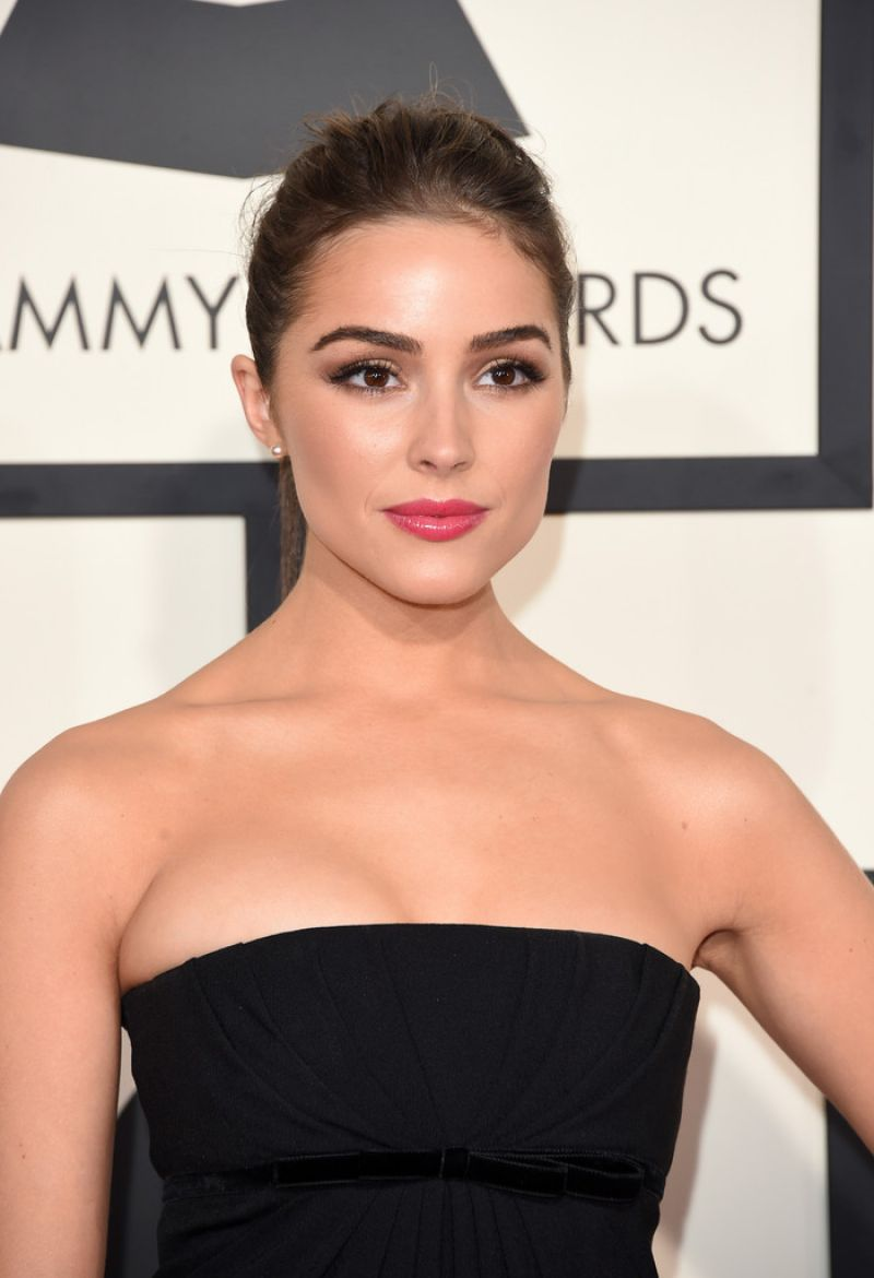 OLIVIA CULPO at 2015 Grammy Awards in Los Angeles