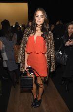 OLIVIA CULPO at bcbgmaxazria Fashion Show in New York