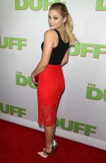 OLIVIA HOLT at The Duff Screening in Hollywood