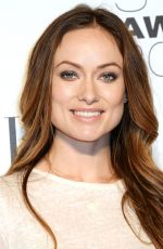 OLIVIA WILDE at Elle Style Awards in London