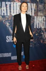 OLIVIA WILDE at SNL 40th Anniversary Celebration in New York