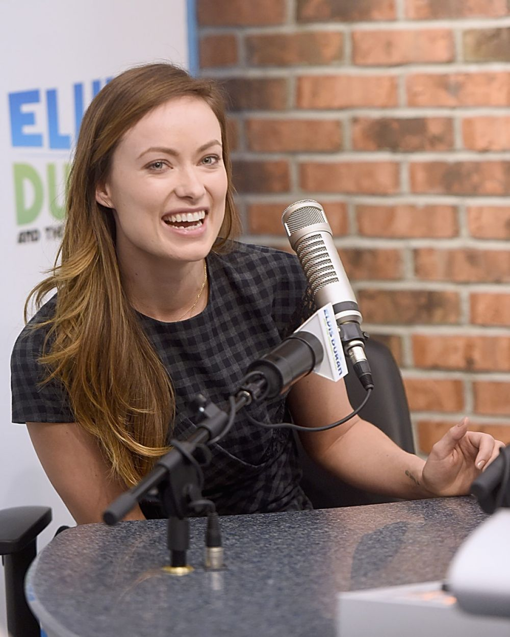 OLIVIA WILDE at The Elvis Duran Z100 Morning Show in New York ...