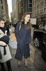 OLIVIA WILDE Out and About in New York 2602