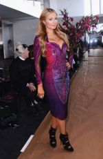 PARIS HILTON at Gabriela Cadena Fall/Winter 2015 Fashion Show in New York