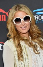 PARIS HILTON at Roc Nation Grammy Brunch in Beverly Hills