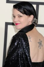 PAULEY PERRETTE at 2015 Grammy Awards in Los Angeles
