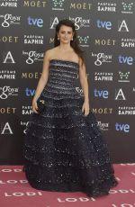 PENELOPE CRUZ at 2015 Goya Cinema Awards in Madrid