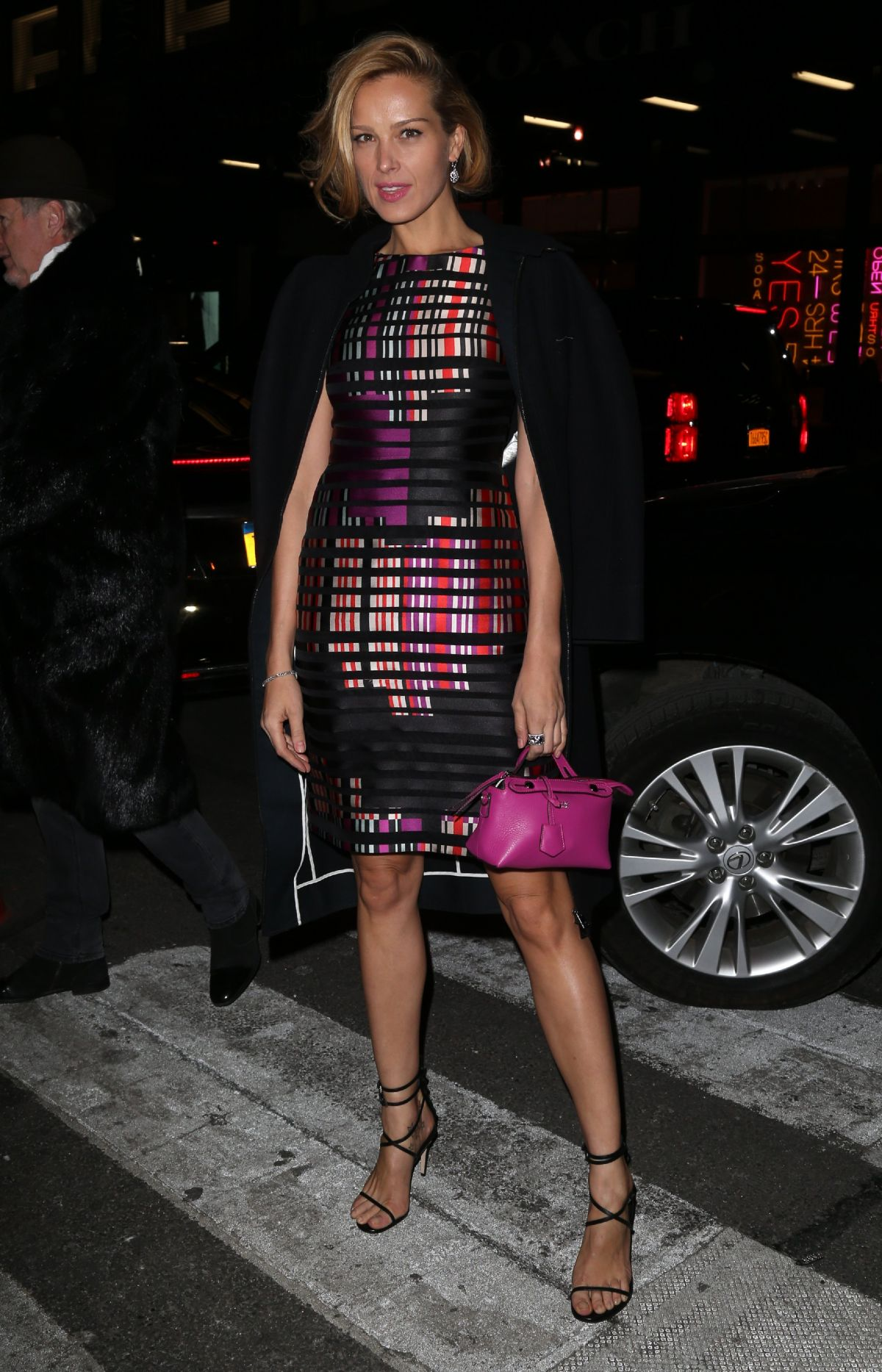 PETRA NEMCOVA at Fendi Flagship Boutique Inauguration Party in New ...
