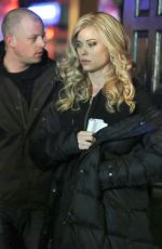 PEYTON LIST on the Set of The Flash in Vancouver 2002