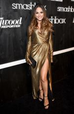 PIA TOSCANO at Smashbox Studios Grand Re-opening Party in Culver City