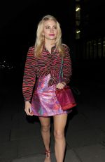 PIXIE LOTT Arrives at House of Holland Fashion Show in London