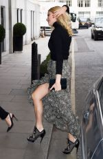 PIXIE LOTT Arrives at Tthe Year of Mexico Lunch in London