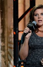 Pregnant TIFFANI THIESSEN at AOL Studios in New York