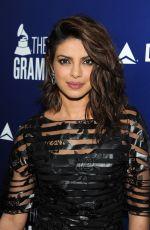 PRIYANKA CHOPRA at Delta Air Lines Grammy Kick-off Party in West Hollywood