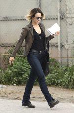 RACHEL MCADAMS on the Set of True Detective in Los Angeles 2702