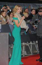 RACHEL RILEY at 2015 EE British Academy Film Awards in London