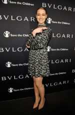RACHEL SKARSTEN at Bvlgari and Save the Children stop. think. give. Pre-oscar Gala in Beverly Hills