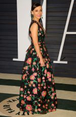 RASHIDA JONES at Vanity Fair Oscar Party in Hollywood