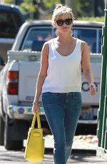 REESE WITHERSPOON in Jeans Out and About in Pacific Palisades 1202