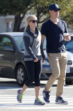 REESE WITHERSPOON in Leggings Out and About in Los Angeles 1302