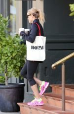 REESE WITHERSPOON in Spandex Out and About in Brentwood