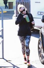 REESE WITHERSPOON in Tights Out and About in Brentwood 2402