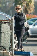 REESE WITHERSPOON in Tights Out in Los Angeles 1802