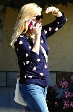 REESE WITHERSPOON Out Shopping in Brentwood 2402