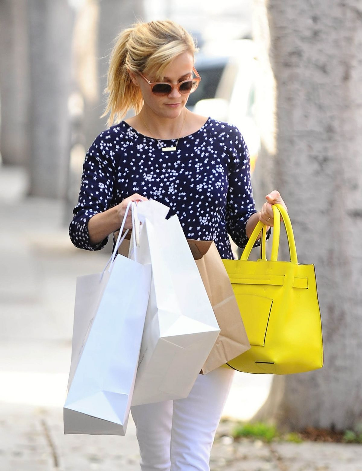REESE WITHERSPOON Out Shopping in Santa Monica  1602
