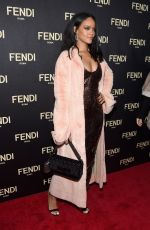 RIHANNA at Fendi New York Flagship Boutique Party at MBFW in New York