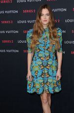 RILEY KEOUGH at Louis Vuitton Series 2 Exhibition in Hollywood