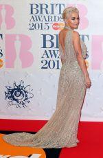 RITA ORA at Brit Awards 2015 in London