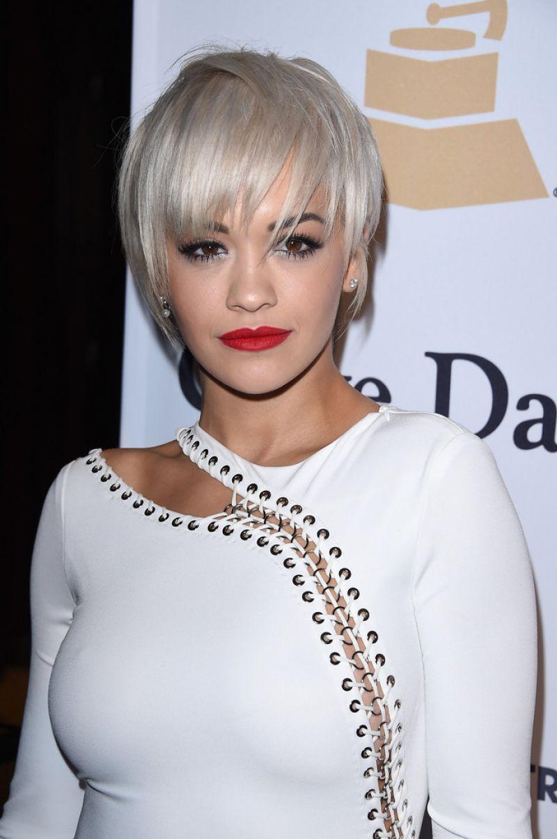 Rita Ora Fashion Shoot Photos: RITA ORA At Pre-grammy Gala And Salute To Industry Icons