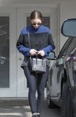 ROONEY MARA Leaves a Gym in Los Angeles 2002