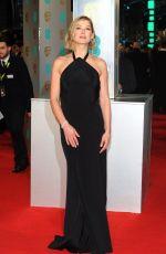ROSAMUND PIKE at 2015 EE British Academy Film Awards in London