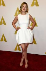 ROSAMUND PIKE at Academy Awards 2015 Nominee Luncheon in Beverly Hills