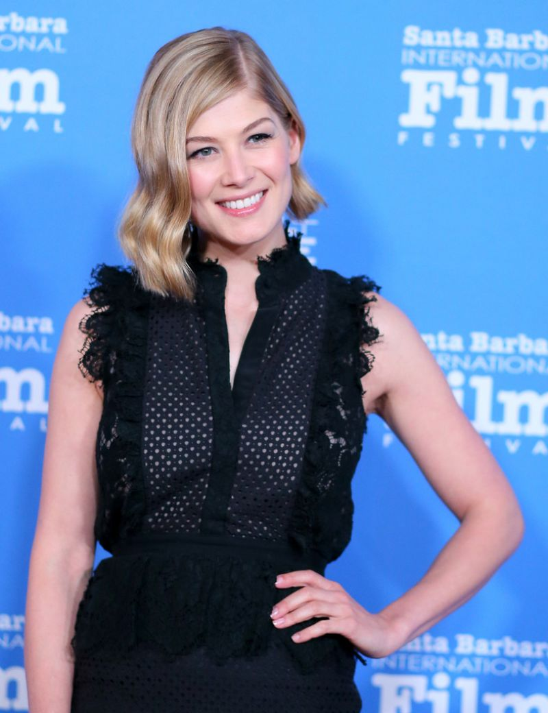 ROSAMUND PIKE at Virtu...