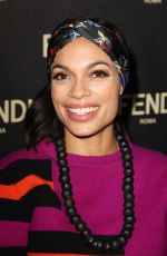 ROSARIO DAWSON at Fendi New York Flagship Boutique Party at MBFW in New York