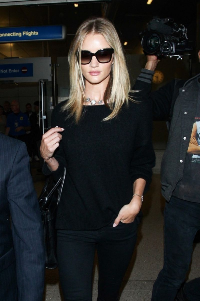 ROSIE HUNTINGTON-WHITELEY at LAX Airport in Los Angeles 0102