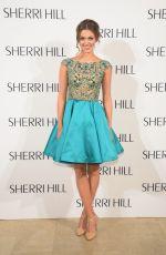 SADIE ROBERTSON at Sherri Hill Fashion Show in New York