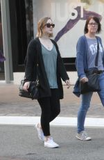 SAOIRSE RONAN Out Shopping in Hollywood