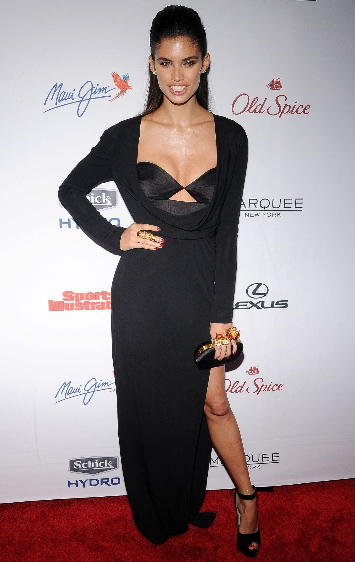 SARA SAMPAIO at 2015 Sports Illustrated Swimsuit Issue Celebration in New York