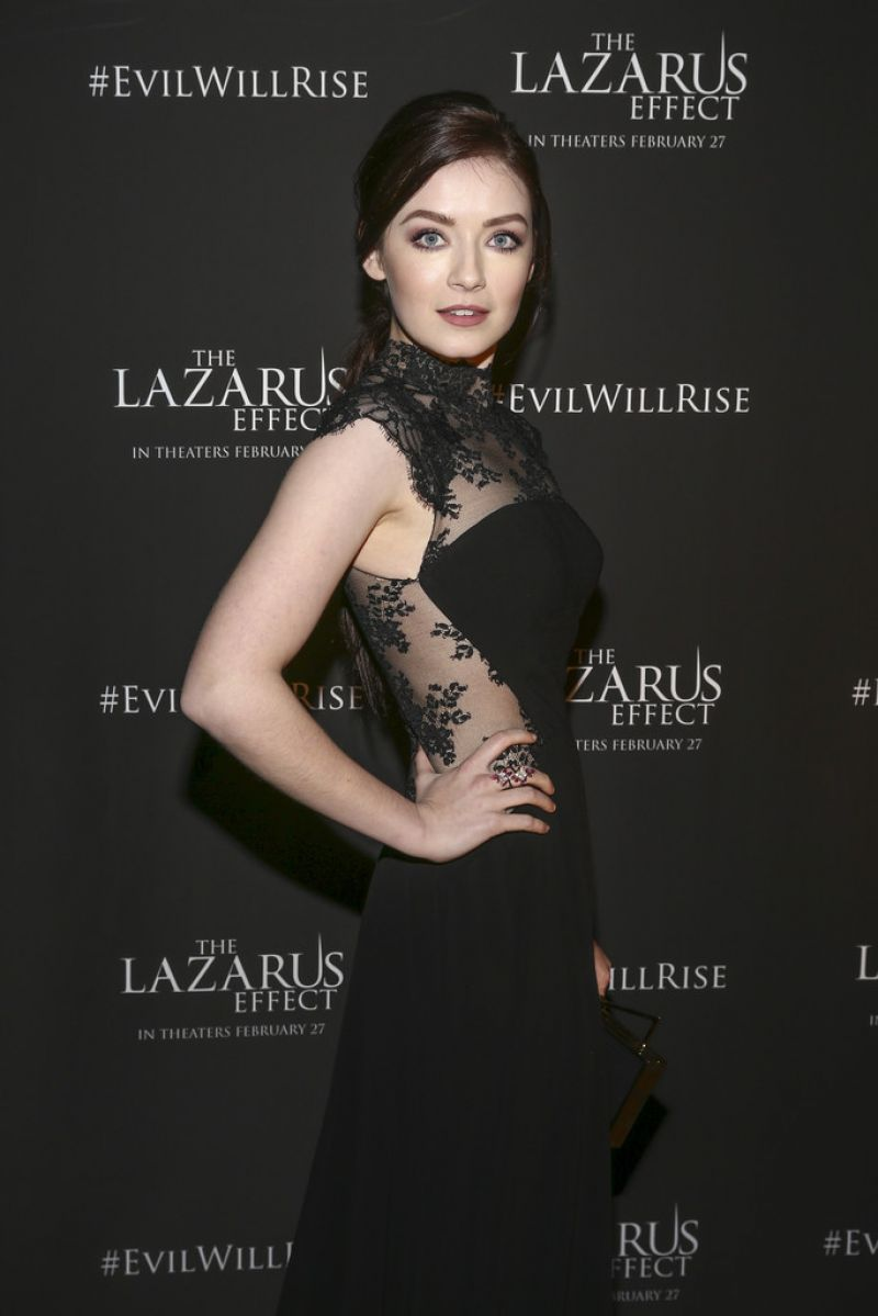 SARAH BLOGER at The Lazarus Effect Special Screening in Hollywood