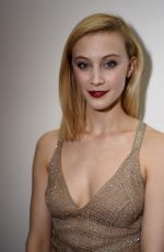 SARAH GADON at GQ and Giorgio Armani Grammys After-party in Beverly Hills