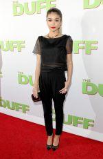 SARAH HYLAND at The Duff Screening in Hollywood