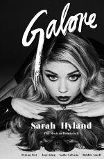 SARAH HYLAND in Galore Magazine, February 2015 Issue